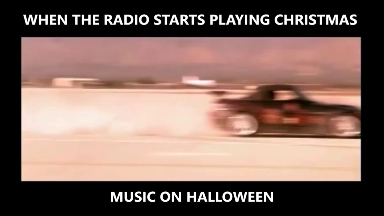 when the radio starts playing christmas music on halloween - When Does Christmas Music Start Playing On The Radio
