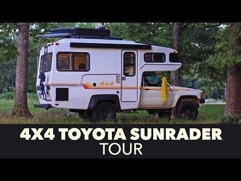 4x4 Toyota Sunrader Tour After Restoration Youtube