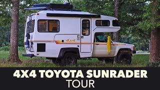 4x4 Toyota Sunrader Tour After Restoration