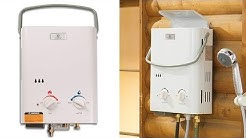 Best Portable Propane Tankless Water Heater - Instant Hot Water!