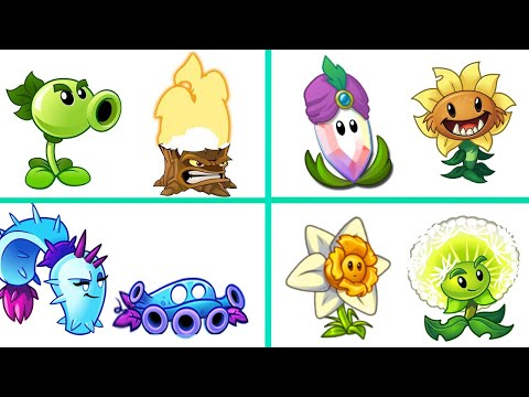 PvZ 2 The Best Pair Plants Dame & Support - Which Team Plant Will Win?