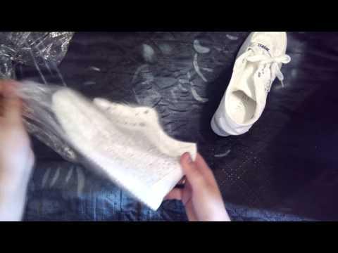 UNBOXING кроссовки на платформе (танкетка) ALIEXPRESS часть 2