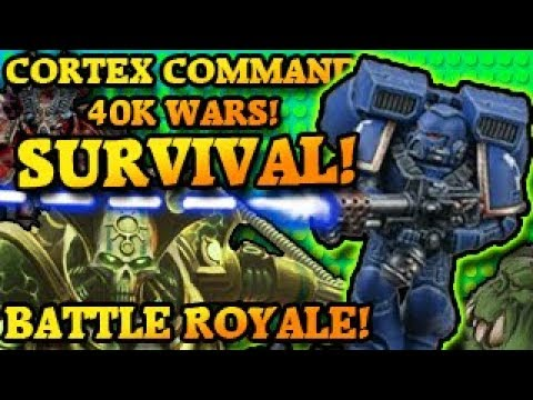 Repeat Warhammer 40K Orks Vs Imperium of Man! Cortex Command