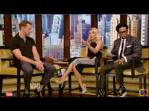 Alexander Skarsgård Interview The Legend of Tarzan | Live with Kelly 2016 June 27