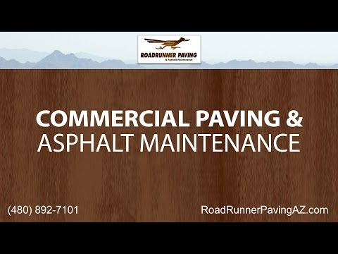 Commercial Paving and Asphalt Maintenance Services by Roadrunner Paving