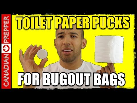Toilet Paper PUCKS! Amazing Invention For NUMBER 2's!