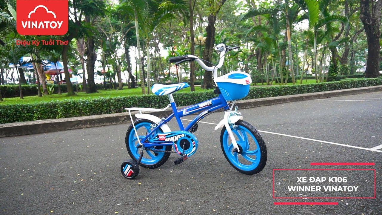 Xe Đạp Trẻ Em K106 Winner Vinatoy Dành Cho Bé Trai Từ 3 - 5 Tuổi | Nhựa Chợ Lớn