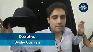 Revelan video de detención de Ovidio Guzmán