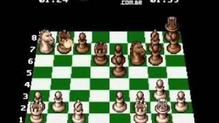 Zerando The Chessmaster (SNES) em 06 minutos - Level of Play Is 2