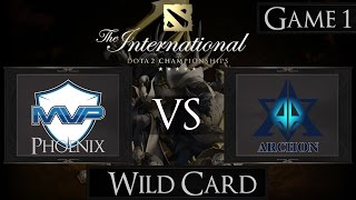 Dota 2 The International 2015 MVP vs Team Archon