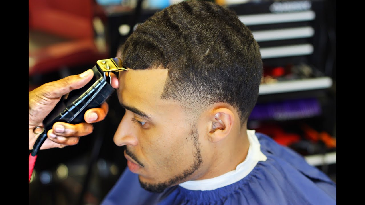HAIRCUT Steps On How To Cut A High Taper HD YouTube