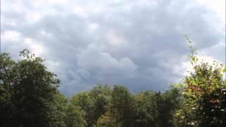 Lidt af det danske vejr uden lyd 31 7 2013 langsom