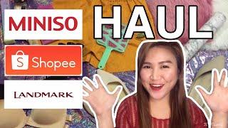 Haul Philippines | SHOPEE HAUL | MINISO HAUL
