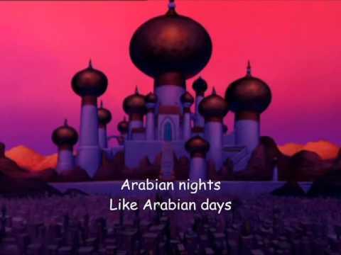 Arabian nights Aladdin Lyrics