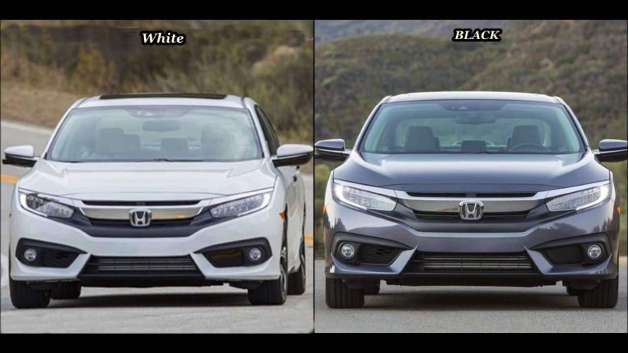 2017 Honda Civic Sedan Color Comparison Youtube