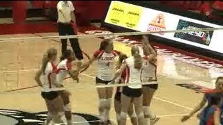 Lobos Get Volleyball Win Over Boise State