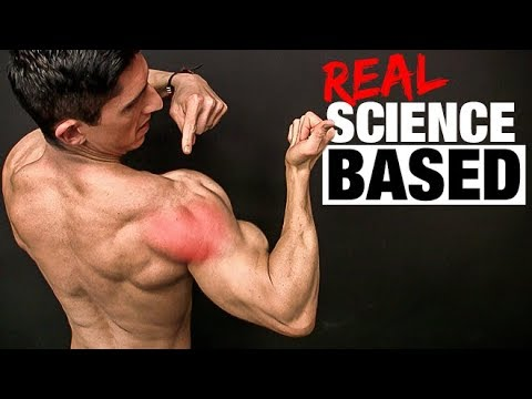 REAL Science Based Rear Delt Exercise (ALL NEW GAINS!) - YouTube