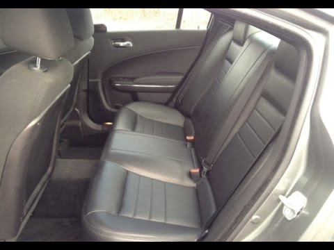 How To Remove And Install Rear Back Seats Dodge Charger Police 2011