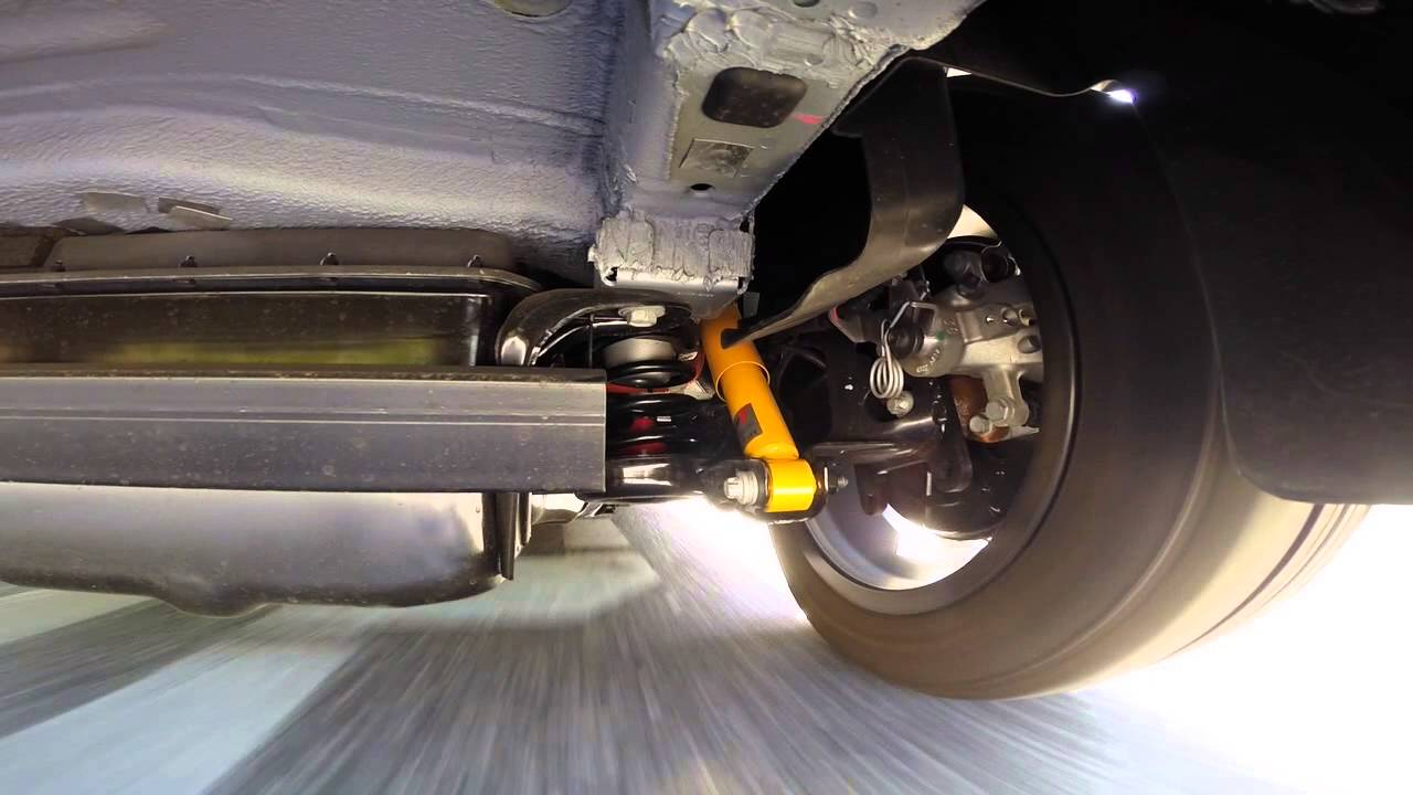 Fiat 500e Rear Suspension Youtube