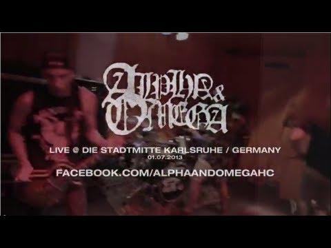 Alpha & Omega Live @ Die Stadtmitte Karlsruhe (HD)