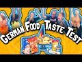 German Food Taste Test Challenge