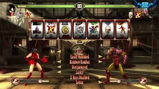 Mortal Kombat Komplete Mods Blood Queen Kitana Test Your Luck Madness
