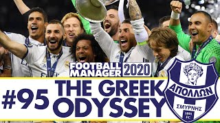 CHAMPIONS LEAGUE SEMI-FINAL | Part 95 | THE GREEK ODYSSEY FM20 | Football Manager 2020