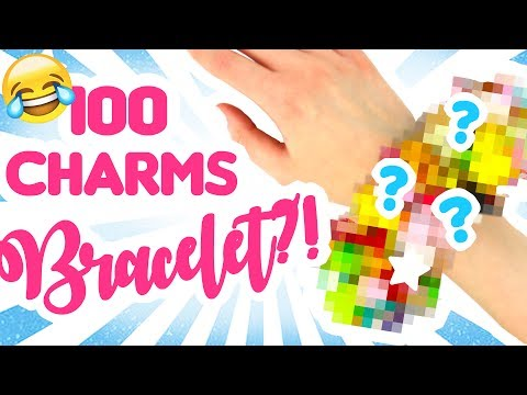 100 CHARMS BRACELET?!  // How many charms can fit?