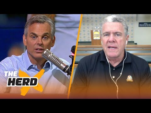 Peter King On Andrew Luck's Progress, Expectations For J.J. Watt And More | NFL | THE HERD