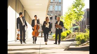 Le Quatuor Cobalt joue Bach