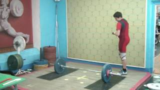 Мезенцев Алексей, 14 лет, вк 77 Рывок 70 кг