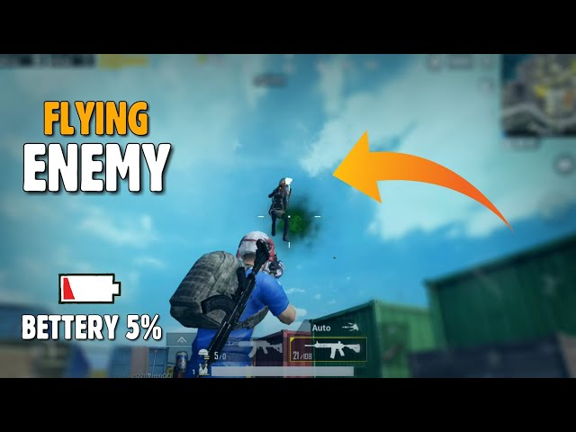 PUBG MOBILE: This Flying Enemy Almost kill me in Georgopool, High kills gameplay   gamexpro