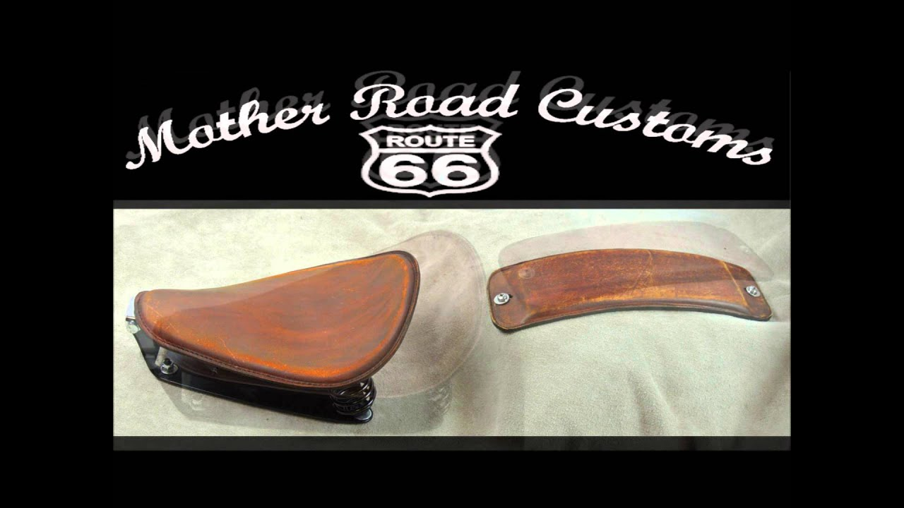 Mother Road Customs 1982-2003 Harley Sportster Seat and Spring Solo Seat  Mounting kit 1