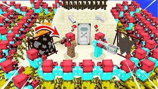 FAKİR'in EN GÜVENLİ ÇÖL ADASI VS MUTANT ZENGİN KIYAMETİ ! - Minecraft Video