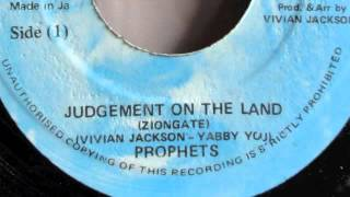 PROPHETS - JUDGEMENT ON THE LAND Vivian Jackson Yabby You production & Dub