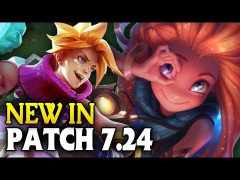 ZOE & EZREAL NERFS? NEW in Patch 7.24 PRESEASON (League of Legends)
