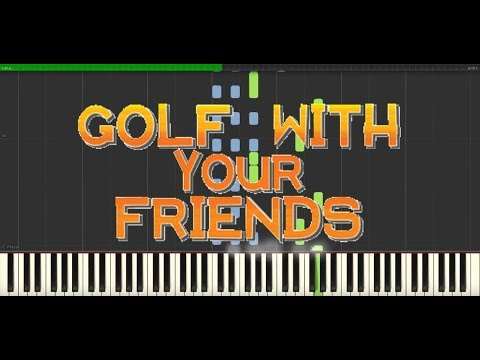 Golf With Your Friends | Vitality Theme | Piano Tutorial