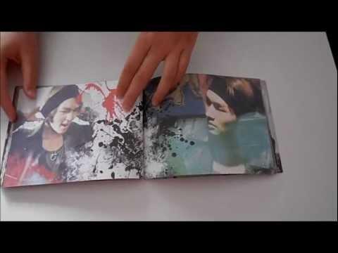 SHINee Lucifer Version A [Album Unboxing]
