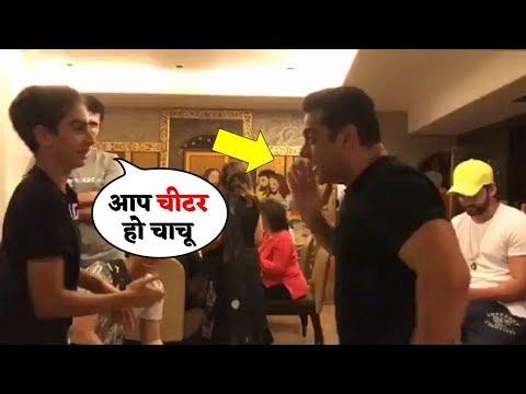 Salman Khan Plays Red Hands With Nephews Arhaan, Nirvaan, Ayaan in These Hilarious Videos Mp3