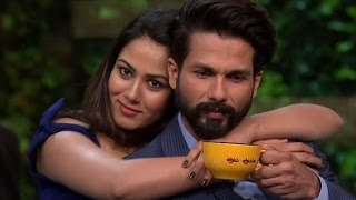 Shahid- Mira REVEAL about their Sex life on camera | Koffee With Karan 5 | TV Prime Time