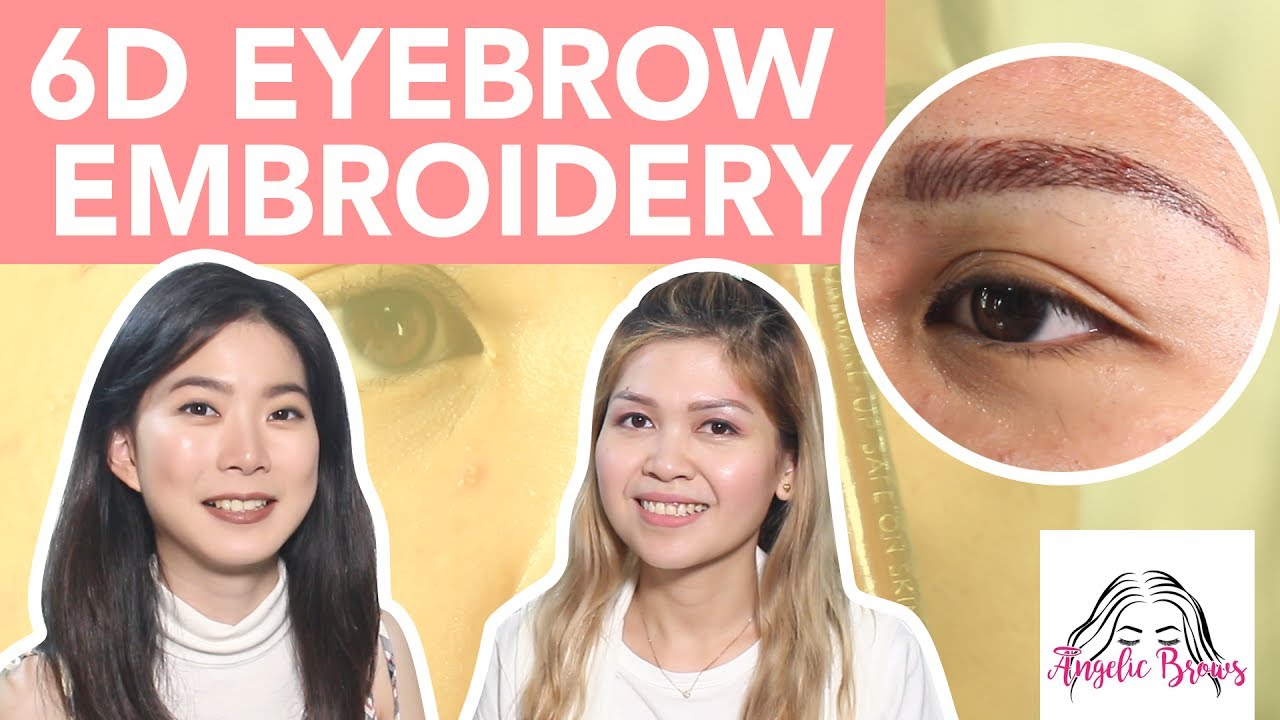 What Is 6d Eyebrow Embroidery Youtube