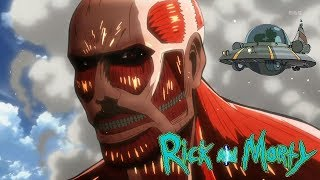 Attack on Titan: Feat. Rick and Morty -Don