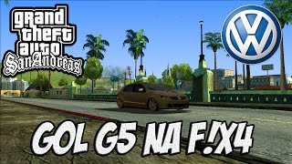 GTA SA GOL G5 F!X4 E PAINEL MULTIFUNCIONAL!!!