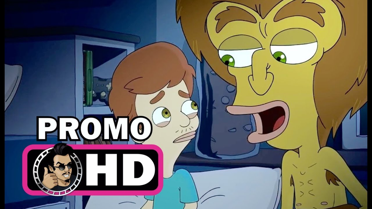 BIG MOUTH TV Clip   Meet The Hormone Monster (2017) Nick Kroll Netflix  Animated Series HD