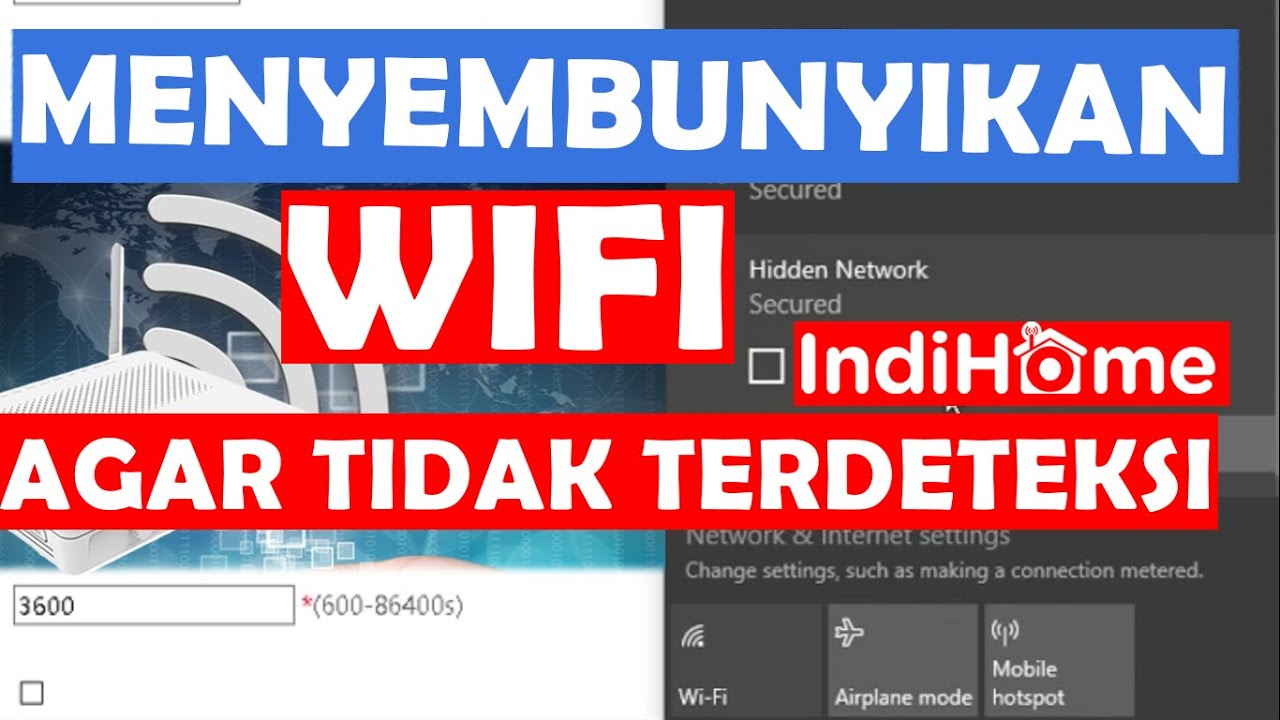 Cara Menyembunyikan Wifi Indihome Huawei Hg8245h5 Youtube