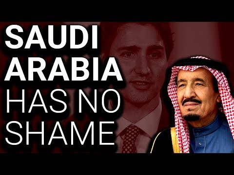 """Saudi Arabia Crucified Man While Calling Out Canada Over """"Human Rights"""""""