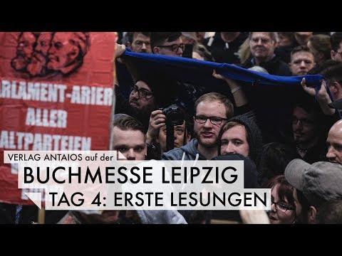 Leipziger Buchmesse - Tag 4: Erste Lesungen