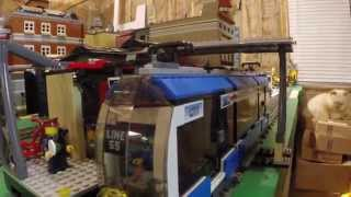 Lego City Transport Train Converted To 9v