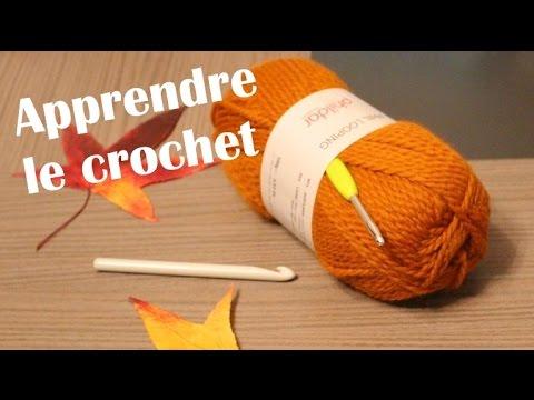 apprendre le crochet maille chainette youtube. Black Bedroom Furniture Sets. Home Design Ideas