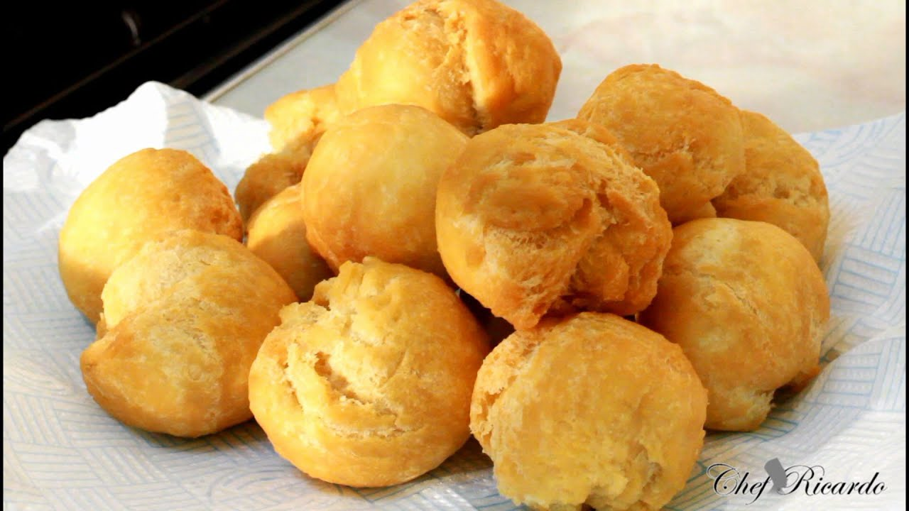 Easy jamaican fried dumplings recipes by chef ricardo youtube forumfinder Gallery